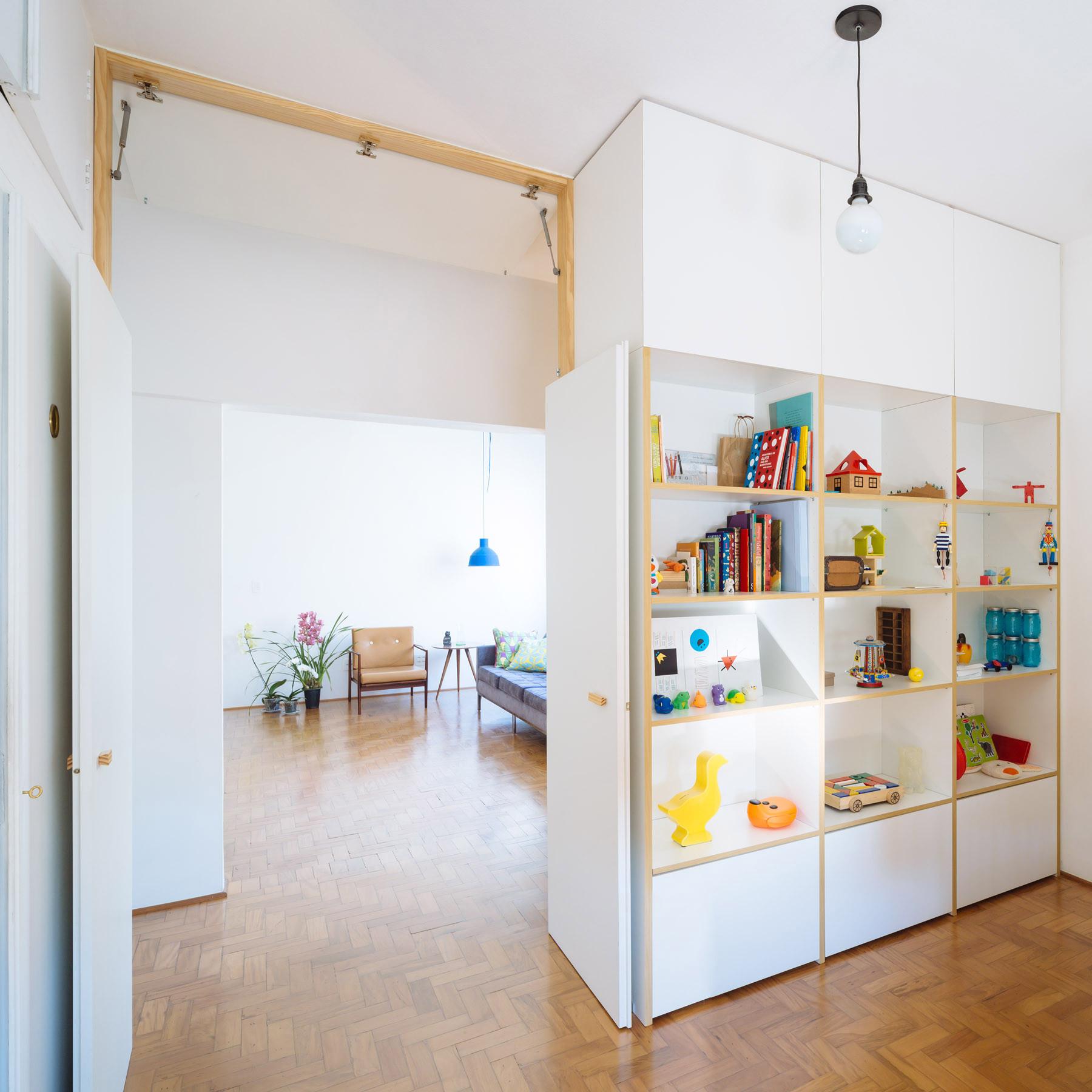 San Paulo Apartments: Galería De Sutil Modernización De Apartamento De La Década
