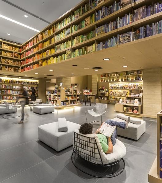 Saraiva Bookstore / Studio Arthur Casas, © Fernando Guerra | FG+SG