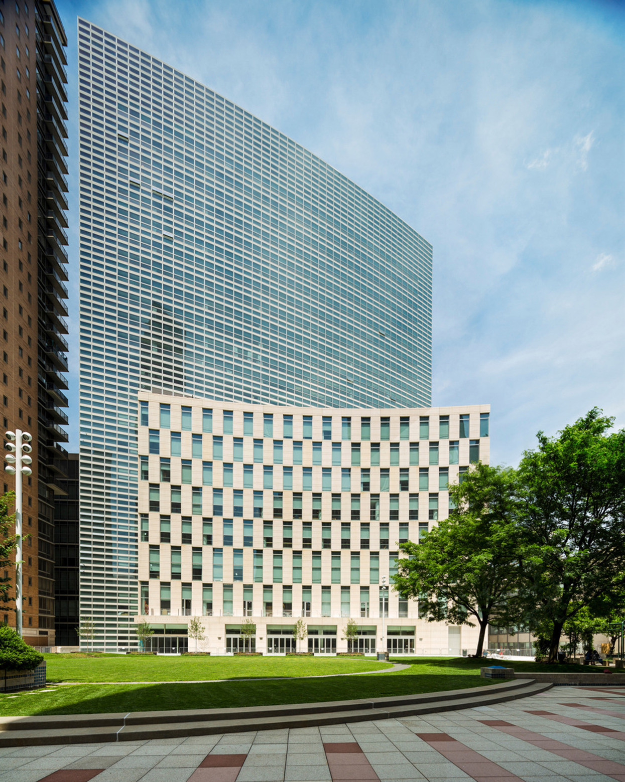 New Fordham Law School Pei Cobb Freed Archdaily