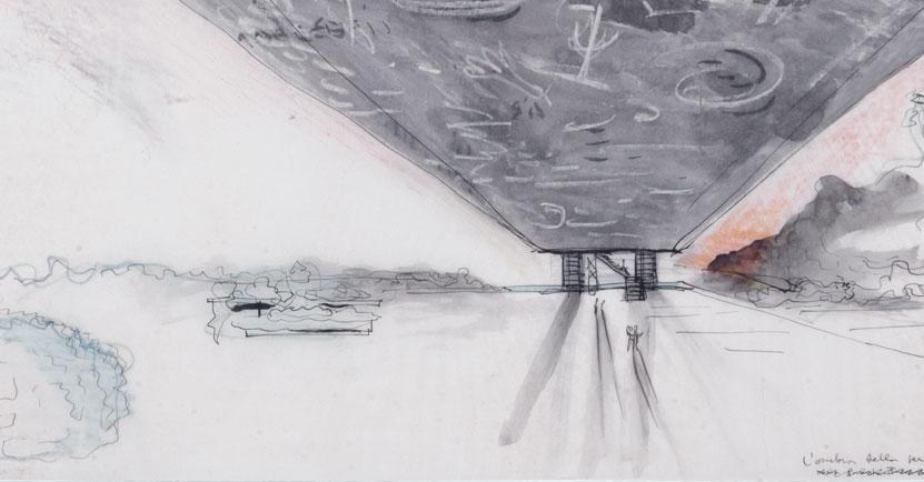 Sesc Pompeia promove duas exposições sobre Lina Bo Bardi em outubro,  Desenho conceitual de Lina Bo Bardi gentilmente cedido pelo Instituto Lina Bo e P. M. Bardi. Fonte: Sesc Pompeia