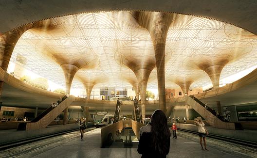 © Luxigon, Cortesia de COBE e Lundén Architecture