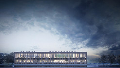 Competition Entry: Studio Ricatti Wins Second Prize for Arcispedale Sant'Anna University Proposal