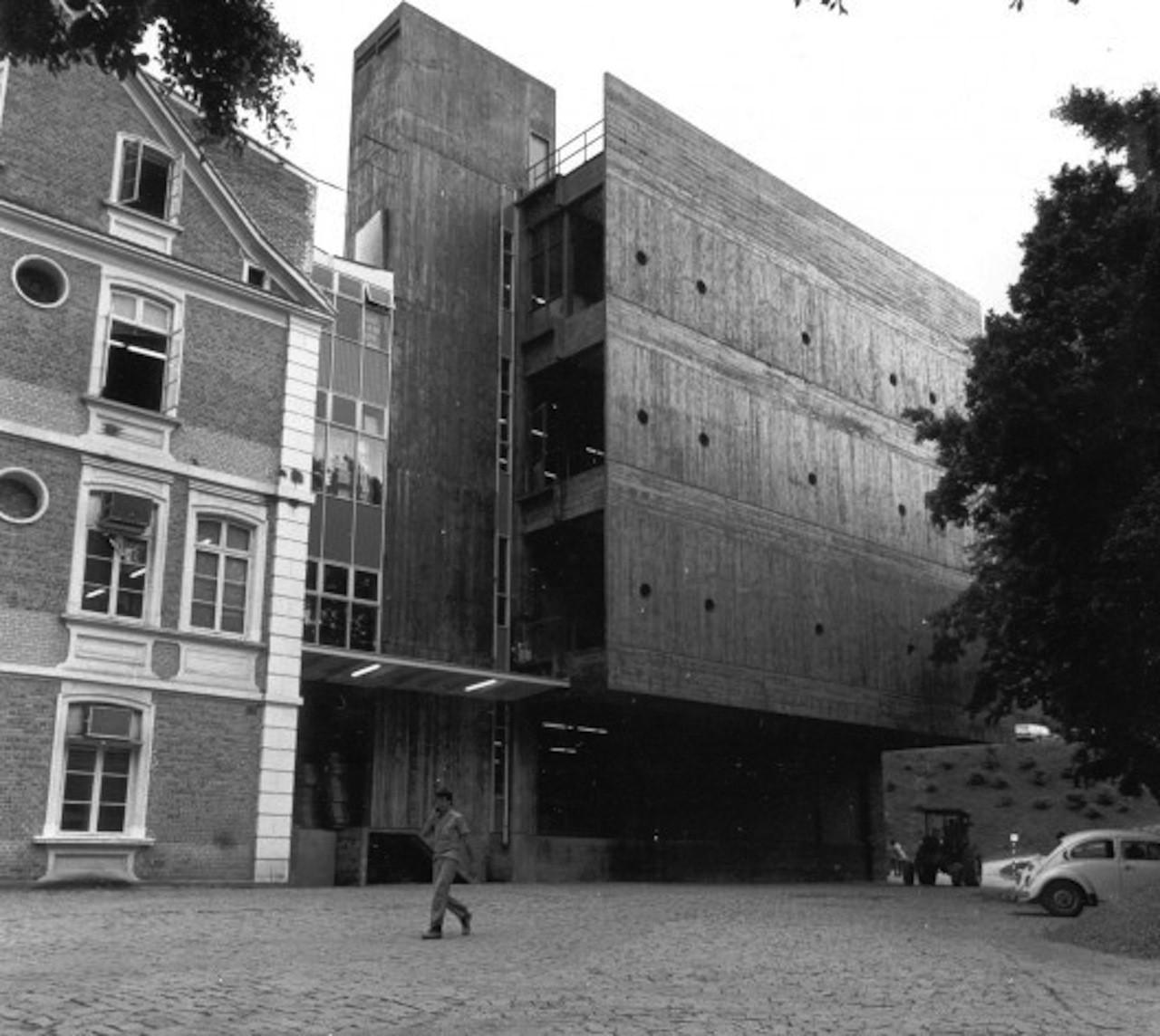 Clássicos da Arquitetura: Hering Matriz / Hans Broos, Cortesia de Arquivo do arquiteto