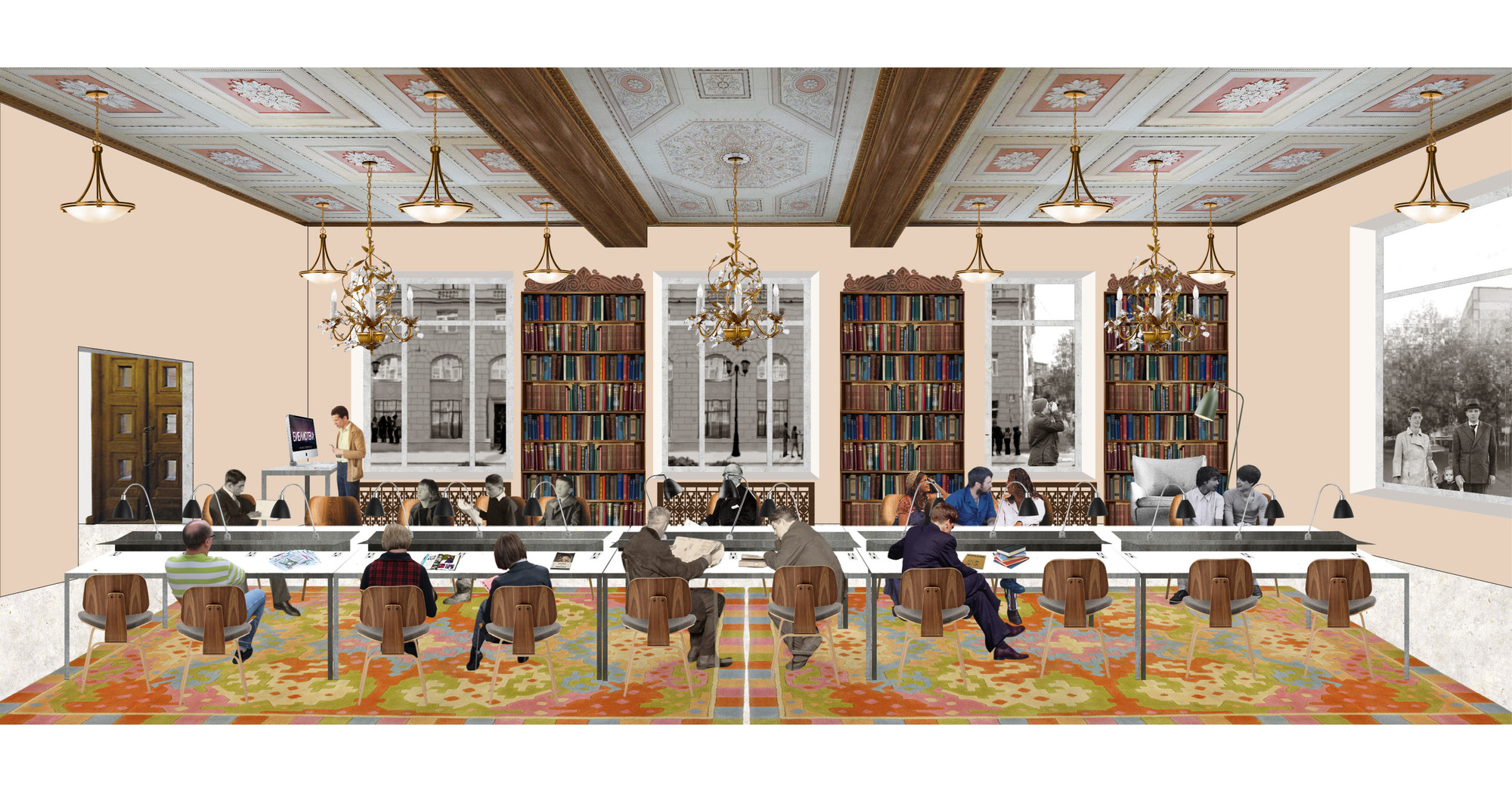 Gallery Of Reimagining 448 Local Libraries In Moscow One