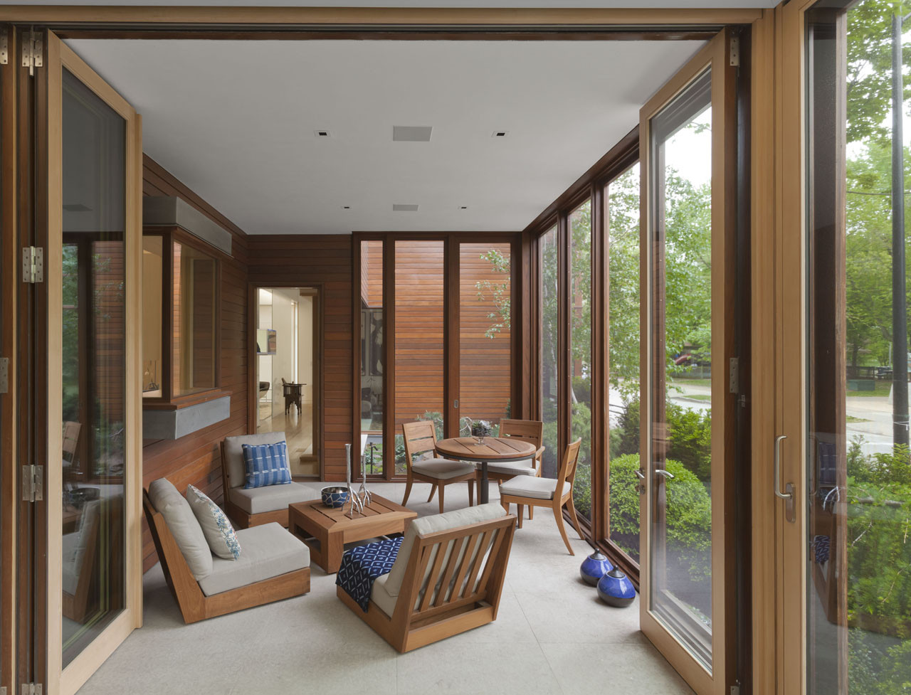 Chicago Residence Dirk Denison Architects Archdaily