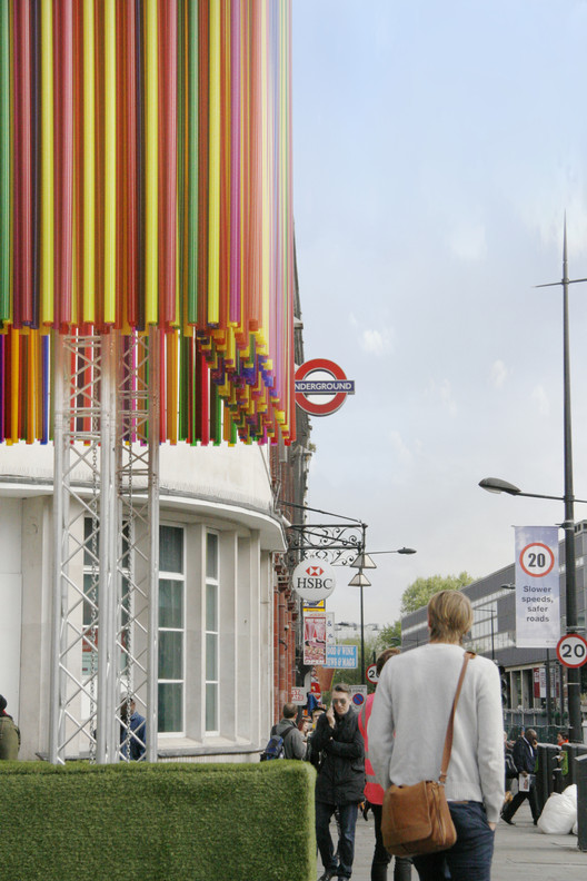 Helen Goodman MP proposed a UK-wide festival of architecture instead of another festival in London, which already hosts a number of architecture and design festivals annually including the Camden Create Festival which began just this year. Image © KSR Architects