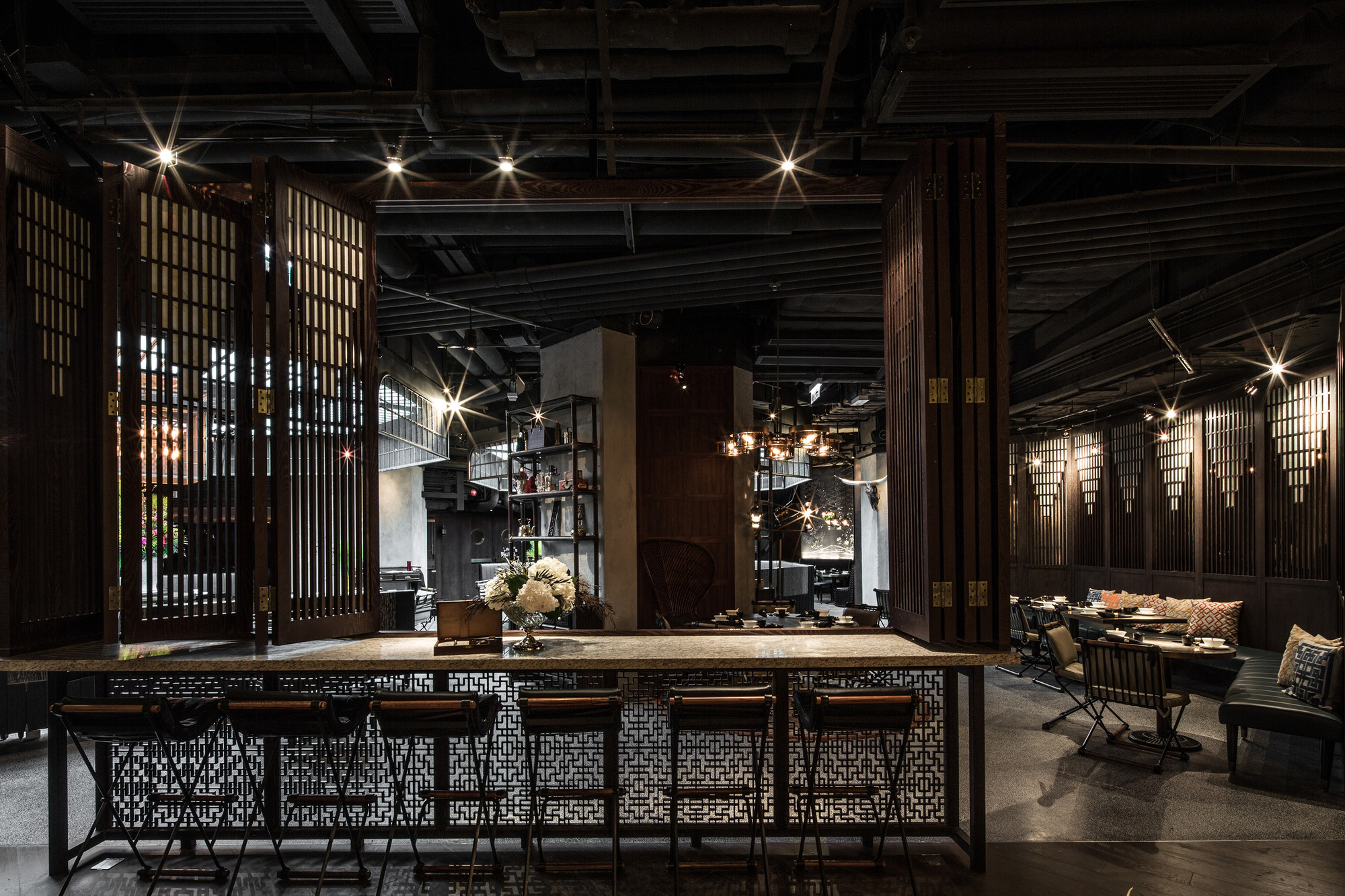 Joyce Wang's Hong Kong Restaurant Named World's Best Interior of 2014 , World Interior of the Year 2014: MOTT32 / Joyce Wang Studio. Image Courtesy of INSIDE