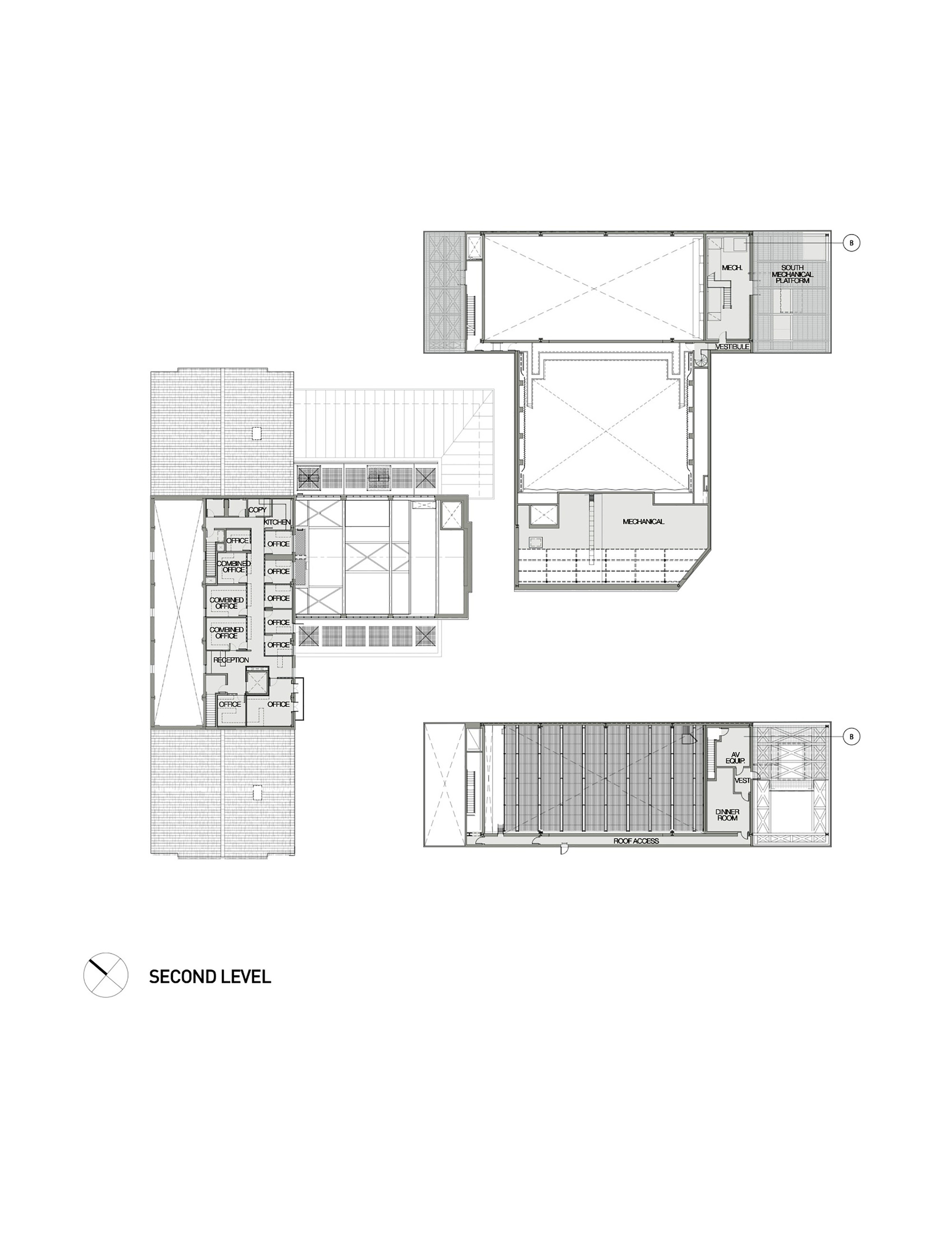 Gallery of the wallis annenberg center for the performing for Photography studio floor plans