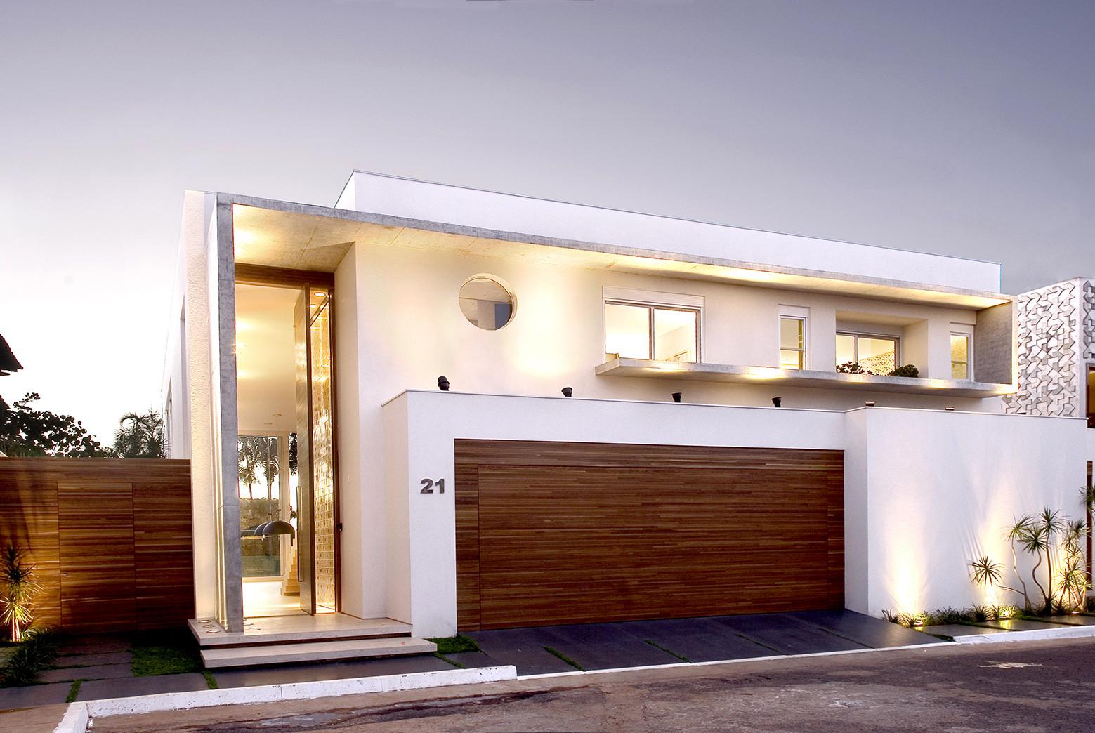Galeria de casa capital ney lima 9 for Fachadas de casas modernas en lima