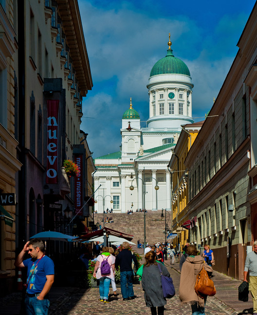 Helsinki is pioneering an underground cooling system that could cut 80% of carbon emissions compared to conventional air conditioning. Image © Flickr CC User Justin Swan