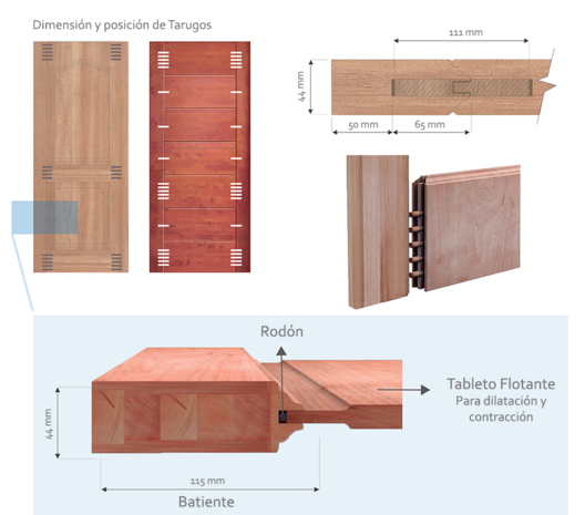 Materiales Puertas De Madera Maciza Plataforma Arquitectura