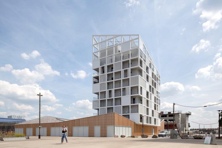30 Viviendas Sociales en Nantes / Antonini + Darmon Architectes, © Alexandre Wasilewski