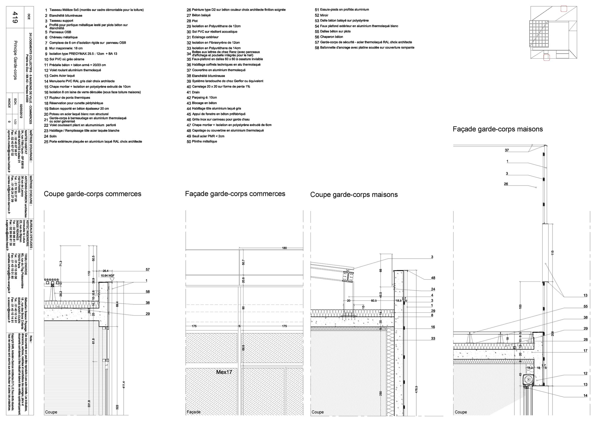 Gallery Of 30 Social Housing Units In Nantes Antonini Darmon Wiring Diagram Nantesdetail