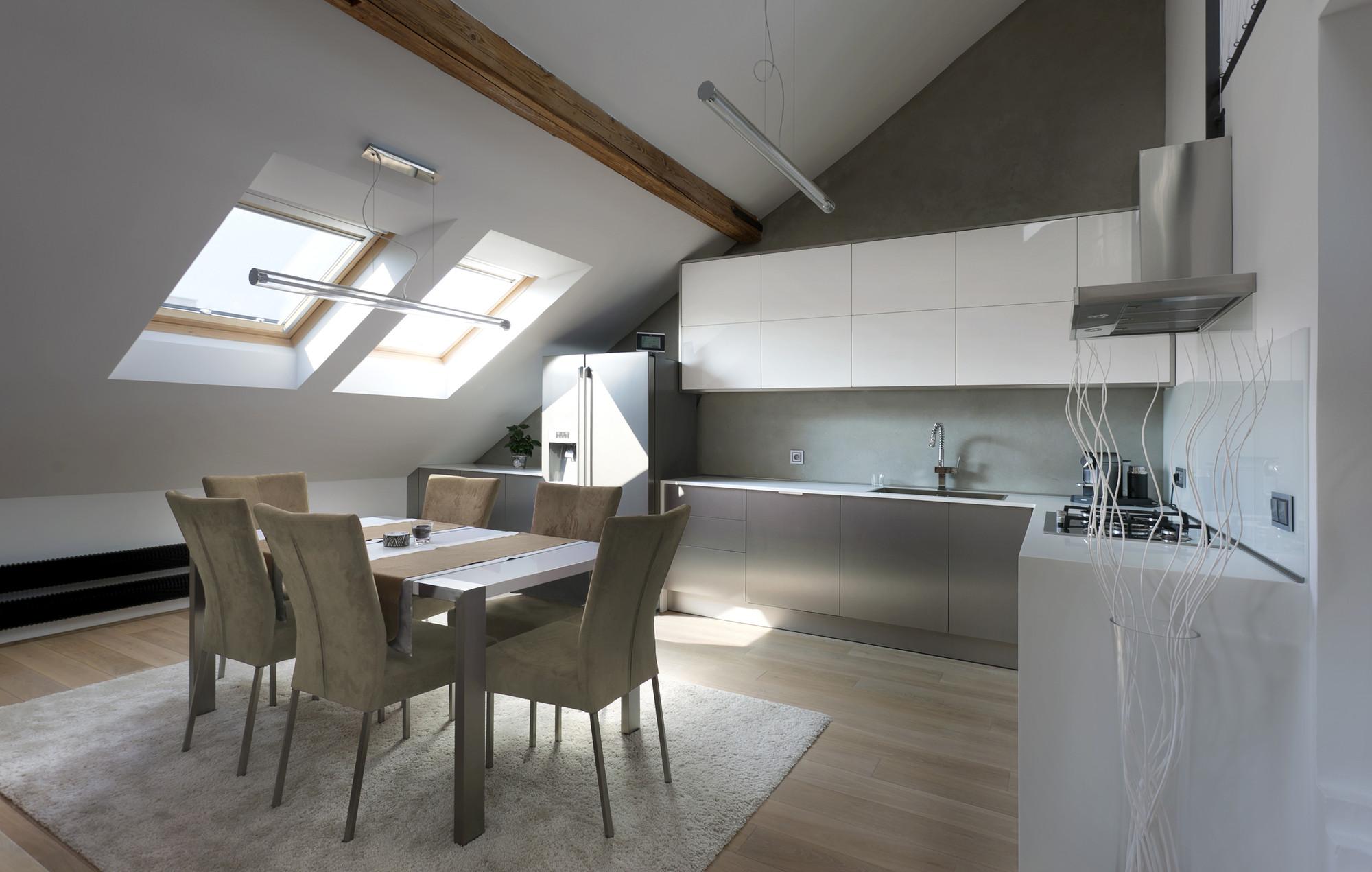 Attic Loft gallery of attic loft reconstruction / b² architecture - 1