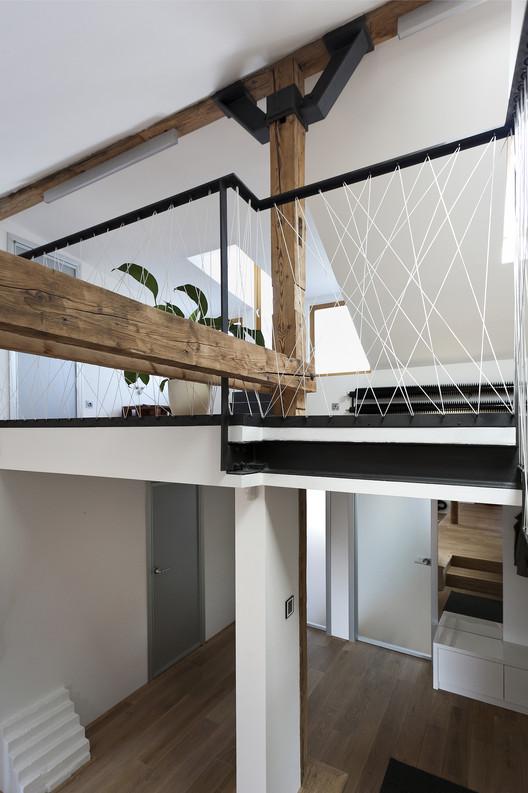 Attic Lofts attic loft reconstruction / b² architecture | archdaily