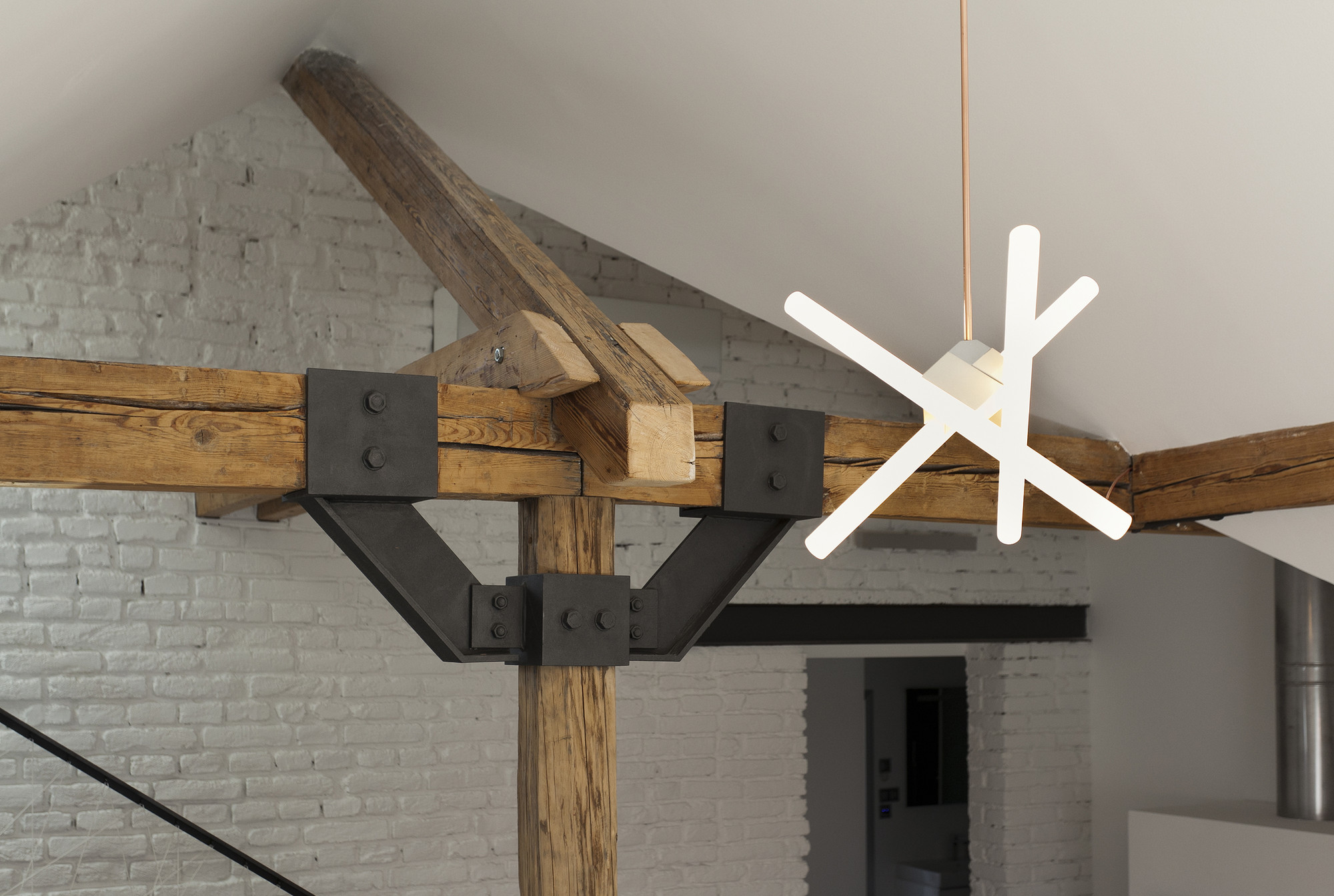 Attic Loft attic loft reconstruction / b² architecture | archdaily