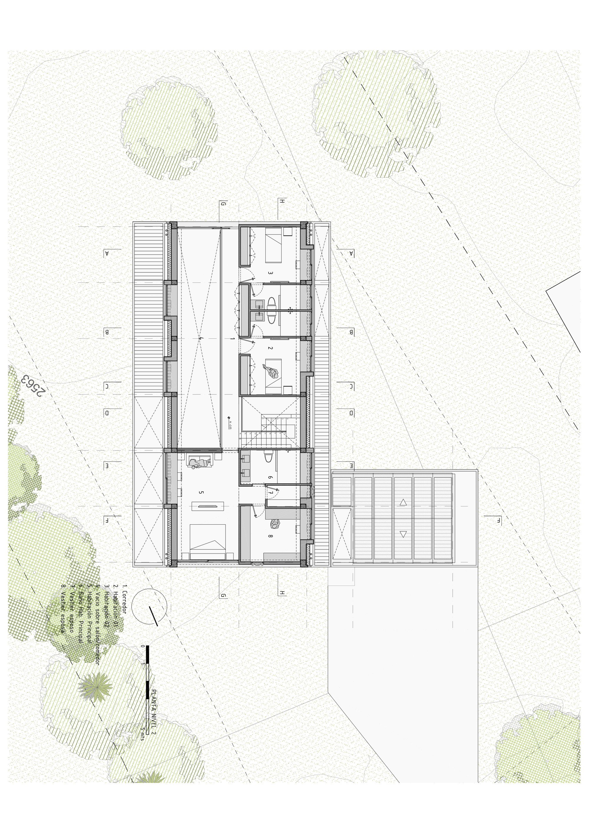 architect floor plans gallery of bo house plan b arquitectos 22 10148