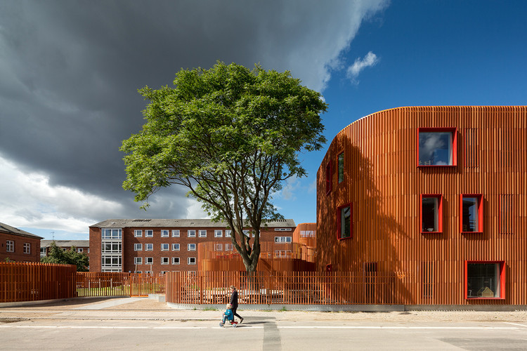 Jardín Infantil Forfatterhuset / Cobe, Courtesy of Adam Mørk
