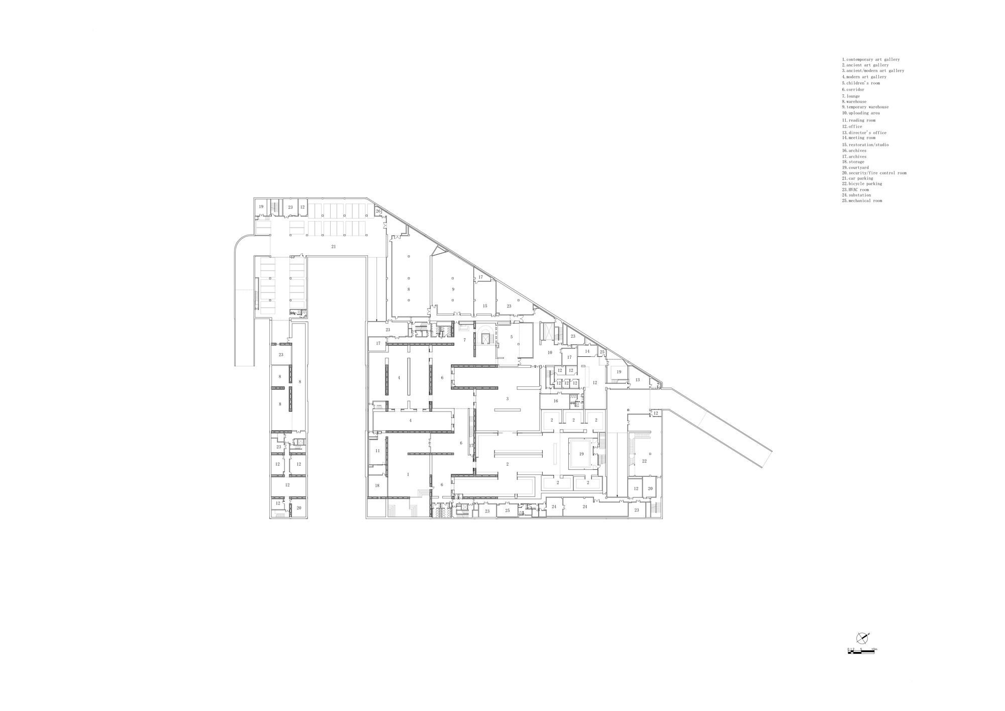 Gallery Of Long Museum West Bund Atelier Deshaus 31