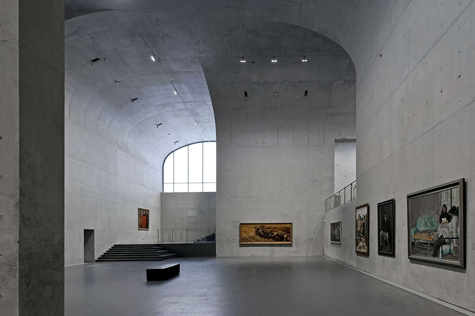 Long Museum West Bund Atelier Deshaus Archdaily