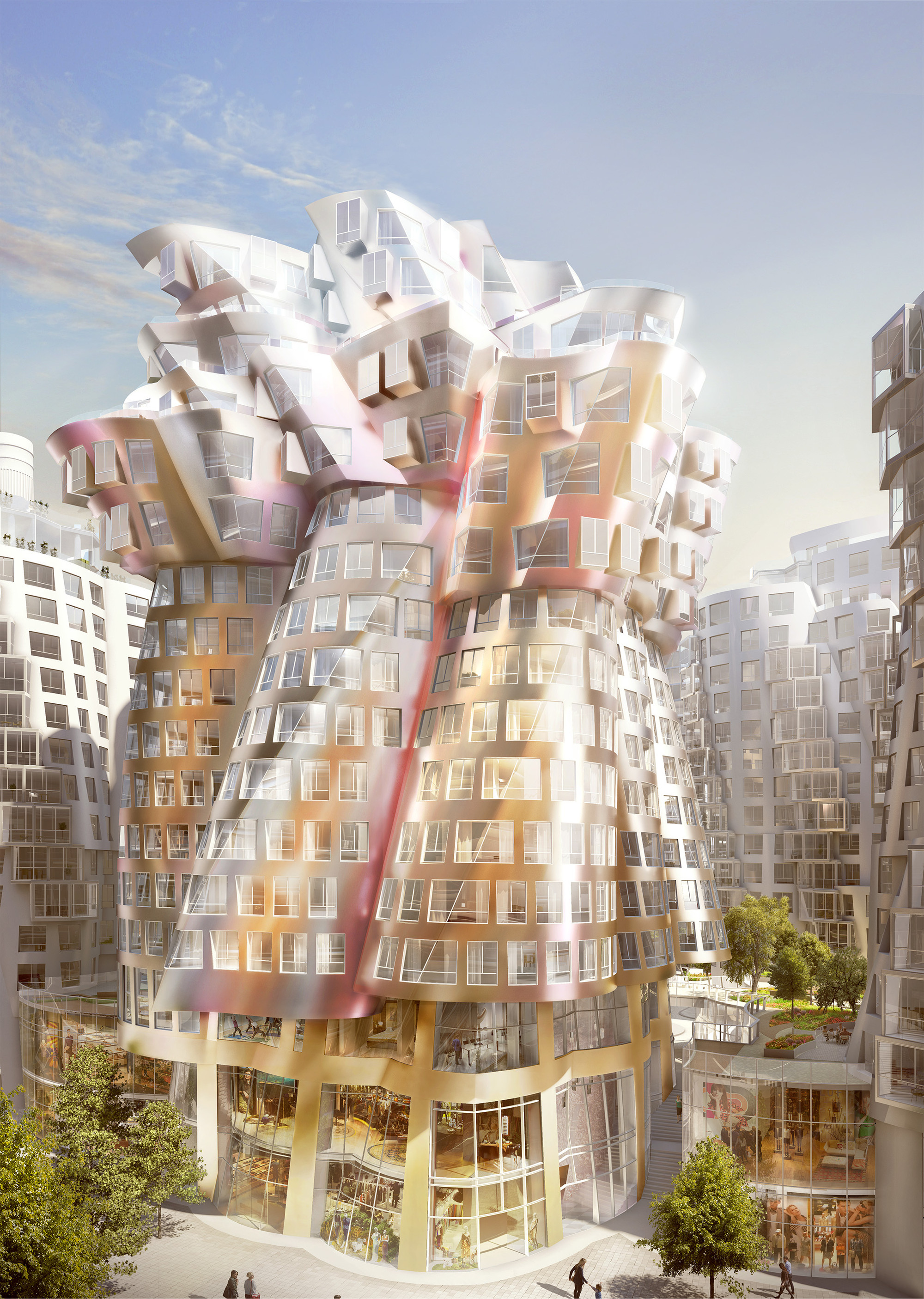 Gallery Of New Images Released Of Foster And Gehry S