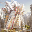 "Gehry Partners' ""Flower Building"". Image Courtesy of Battersea Power Station"