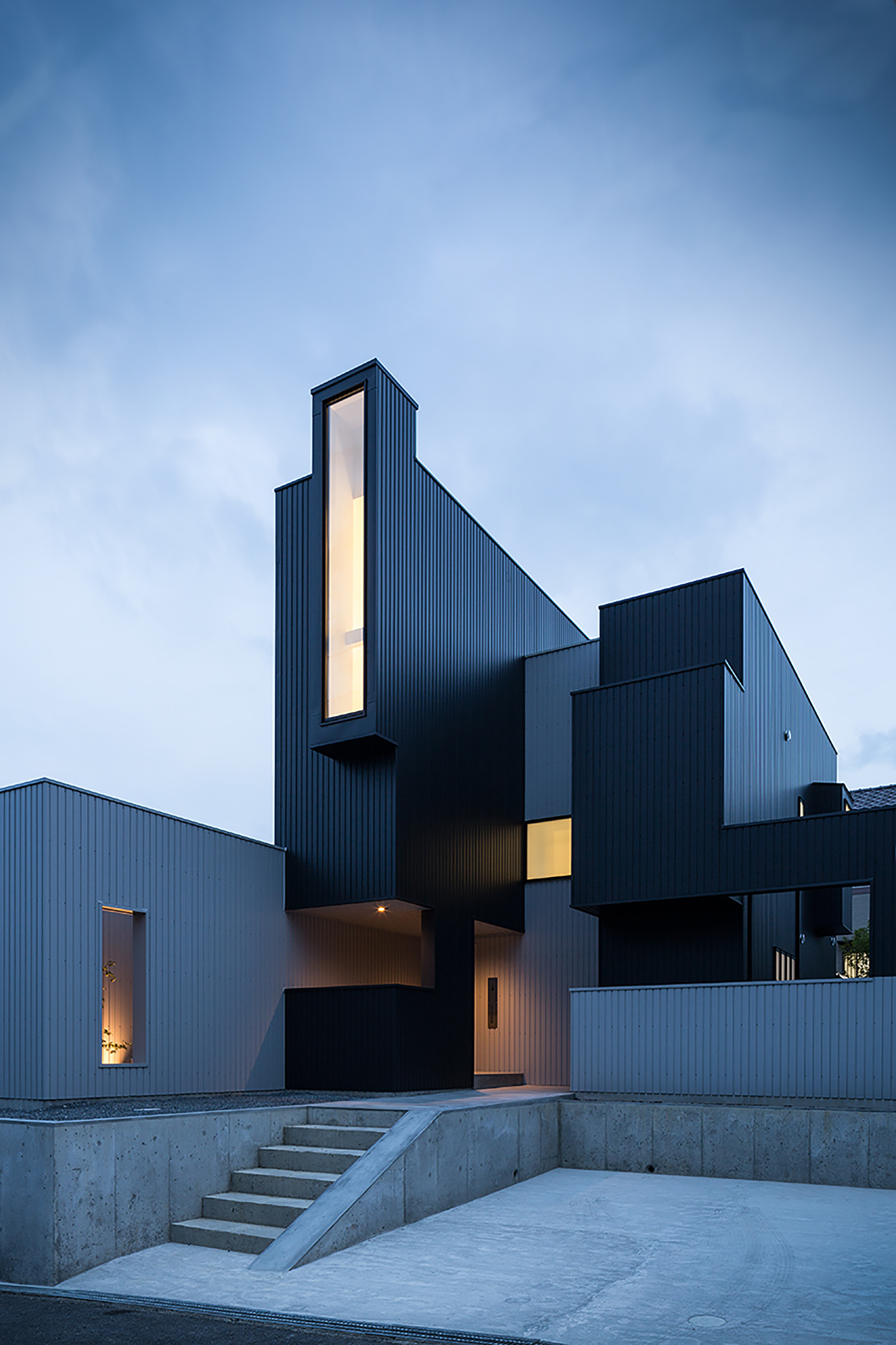 gallery of scape house    form