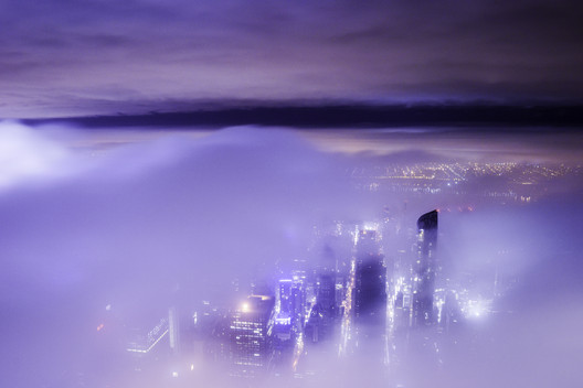 Photo taken from 432 Park Ave, looking West. Image © Demid Lebedev