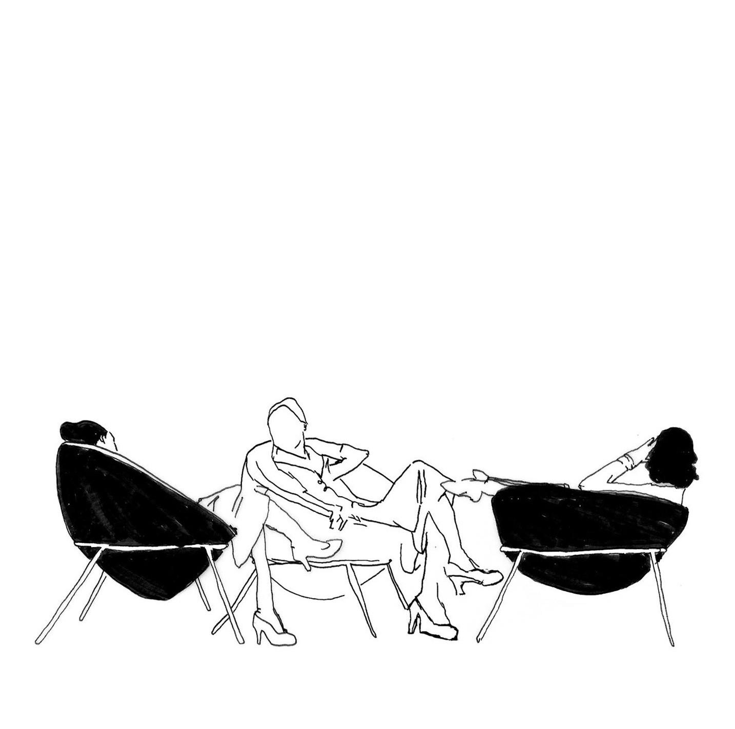 Senta, Lina!, Cortesia de Lígia Zilbersztejn