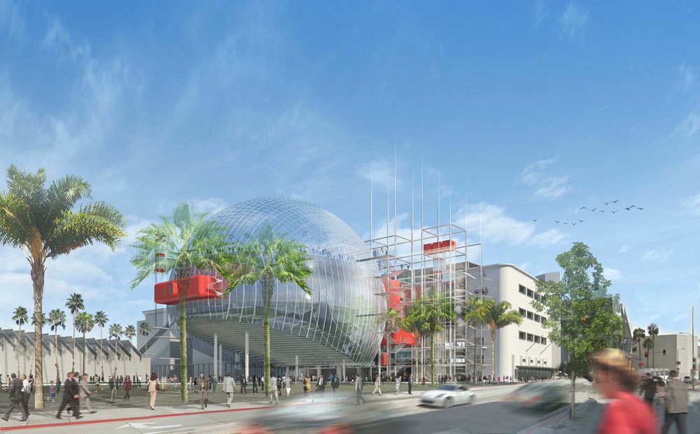 Renzo Piano Comments on the Difficulties of Designing LA's Motion Picture Academy, 2013 Visualization. Image © Renzo Piano Building Workshop, Studio Pali Fekete architects, AMPAS