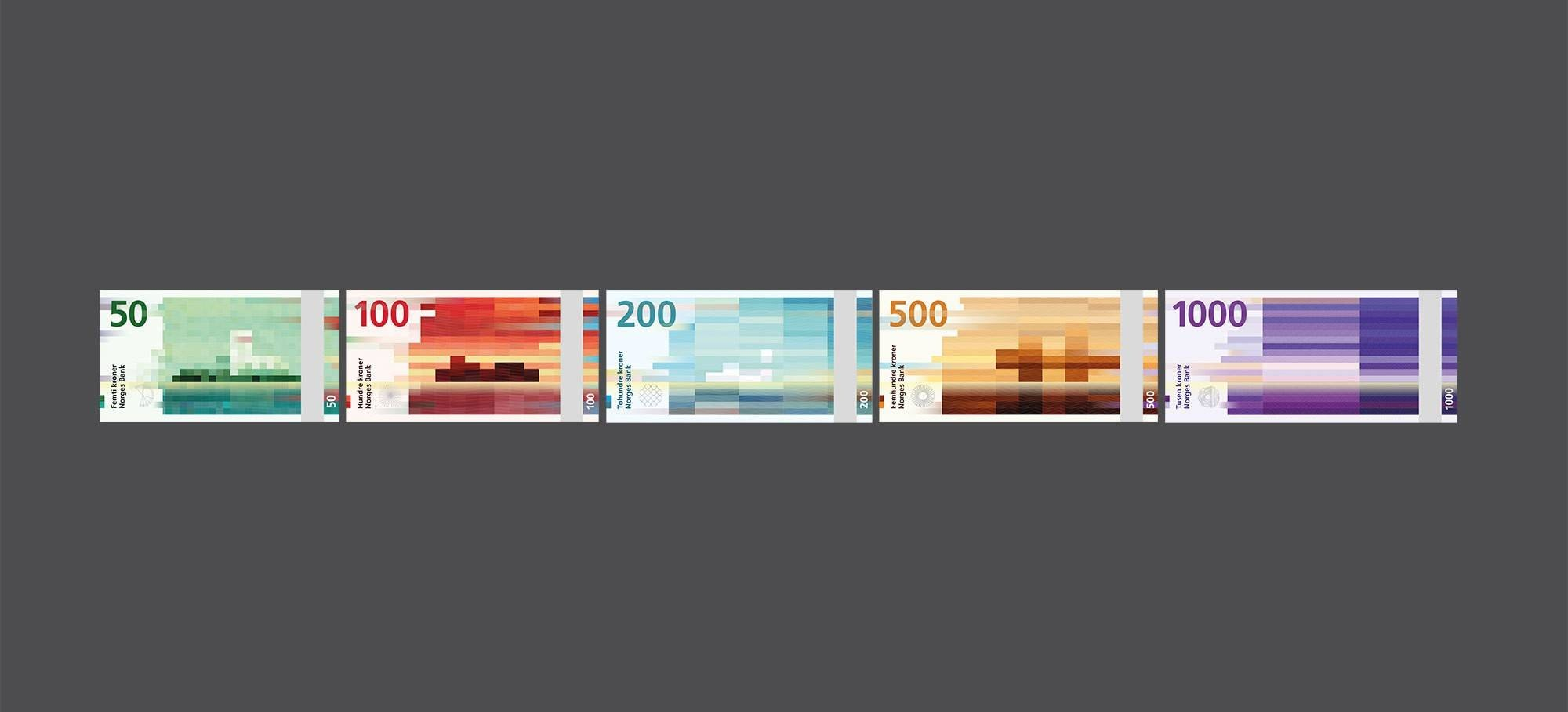 Snøhetta Designs New Banknotes for Norway