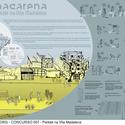 MACARENA - Menção Honrosa - Prancha. Image Cortesia de Projetar.org