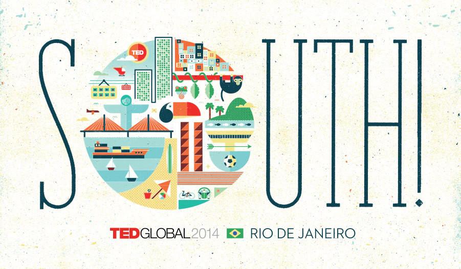 Rio de Janeiro recebe o TEDGlobal 2014, Cortesia de TEDGlobal 2014