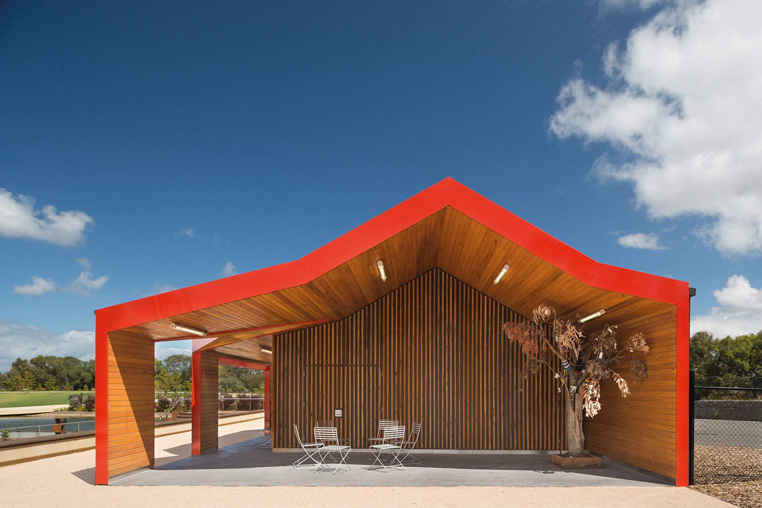 Australian Garden Shelters / BKK Architects, © John Gollings