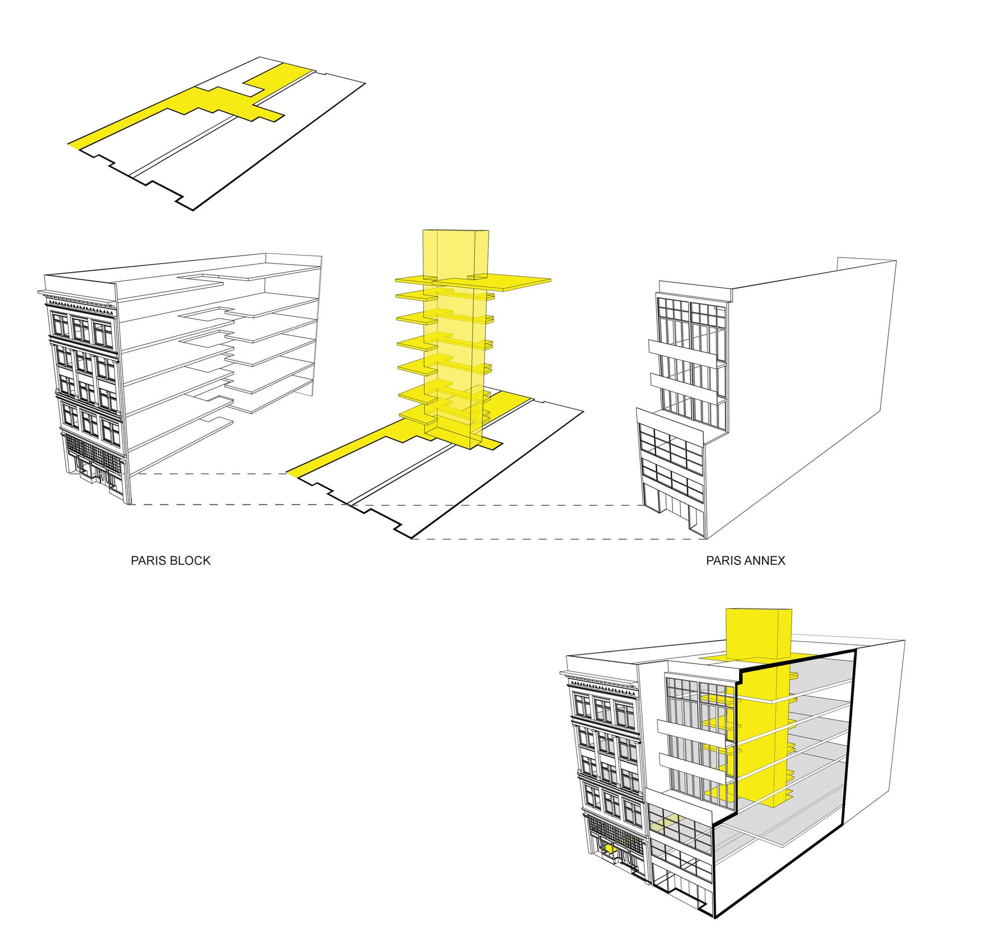 Gallery Of Paris Block Paris Annex    Gair Williamson Architect   Ankenman Marchand Architects