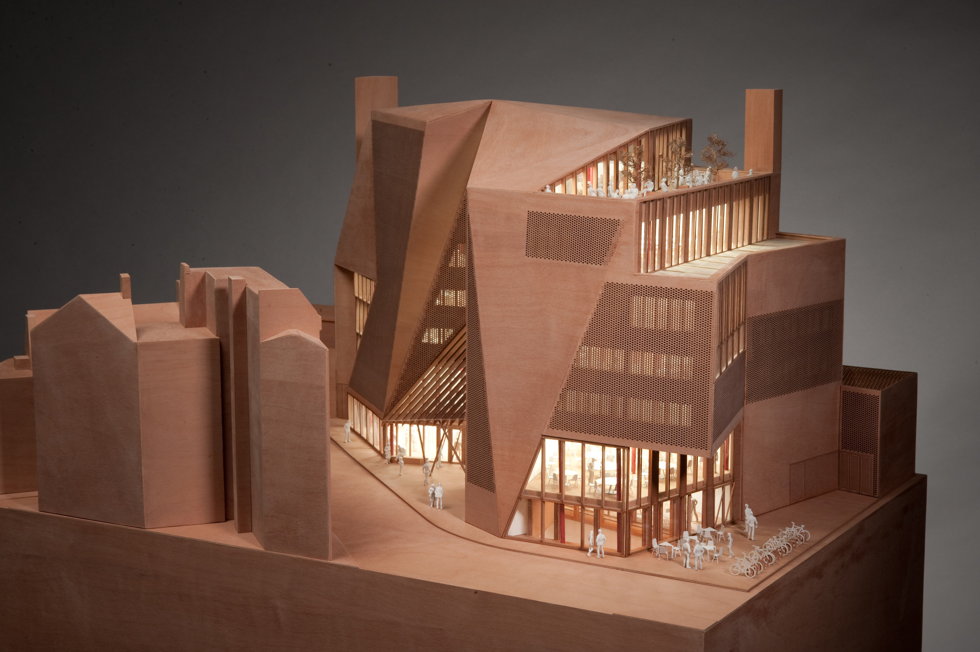 Gallery of lse saw hock student centre o donnell tuomey architects 37 - Small spaces architecture model ...