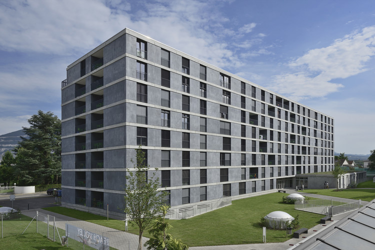 Student housing in Geneva / Frei Rezakhanlou Architects, © Pierre Boss