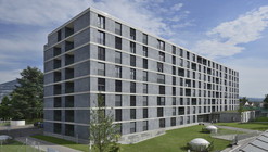Student housing in Geneva / Frei Rezakhanlou Architects