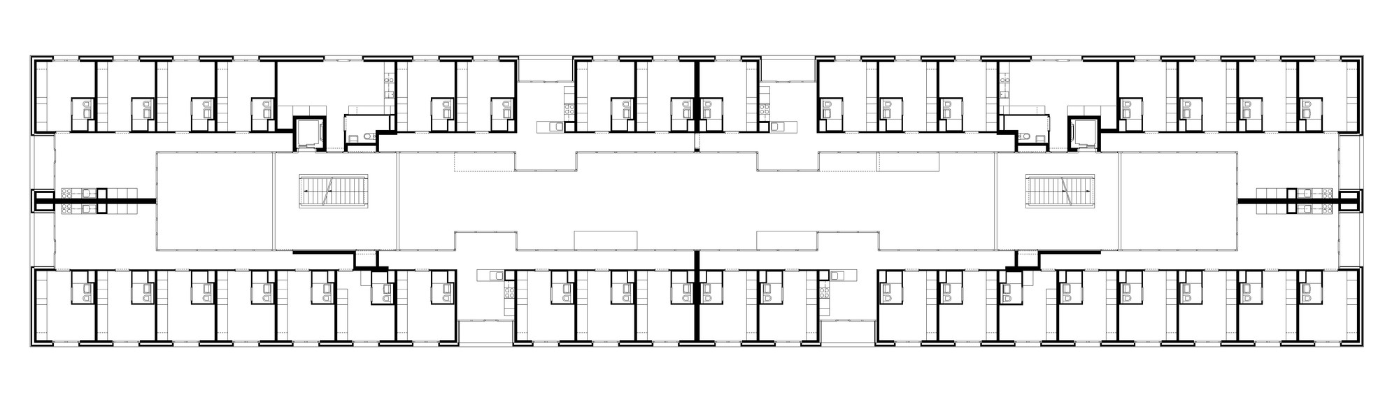 Gallery of Student housing in Geneva Frei Rezakhanlou Architects 12 – Student Housing Floor Plans