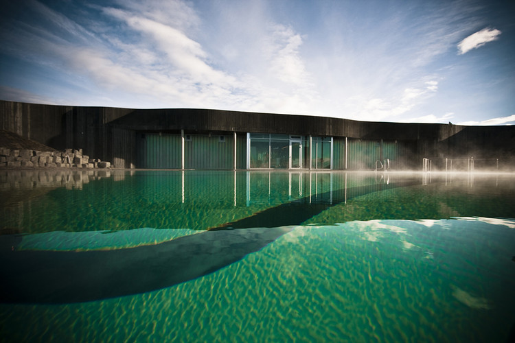 Hofsos Swimming Pool / BASALT Architects, © Gudmundur Benediktsson