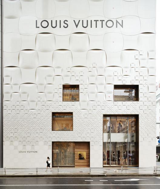 Reforma da fachada da Louis Vuitton Matsuya Ginza / Jun Aoki & Associates, © Daici Ano