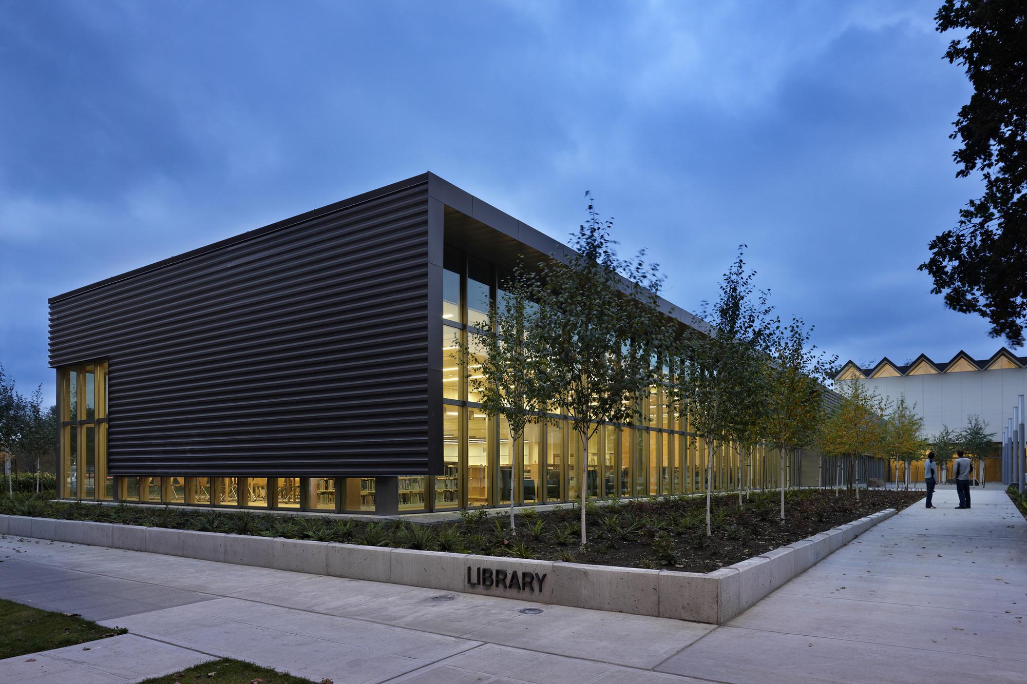 Nathan Hale High School Modernization Mahlum Archdaily
