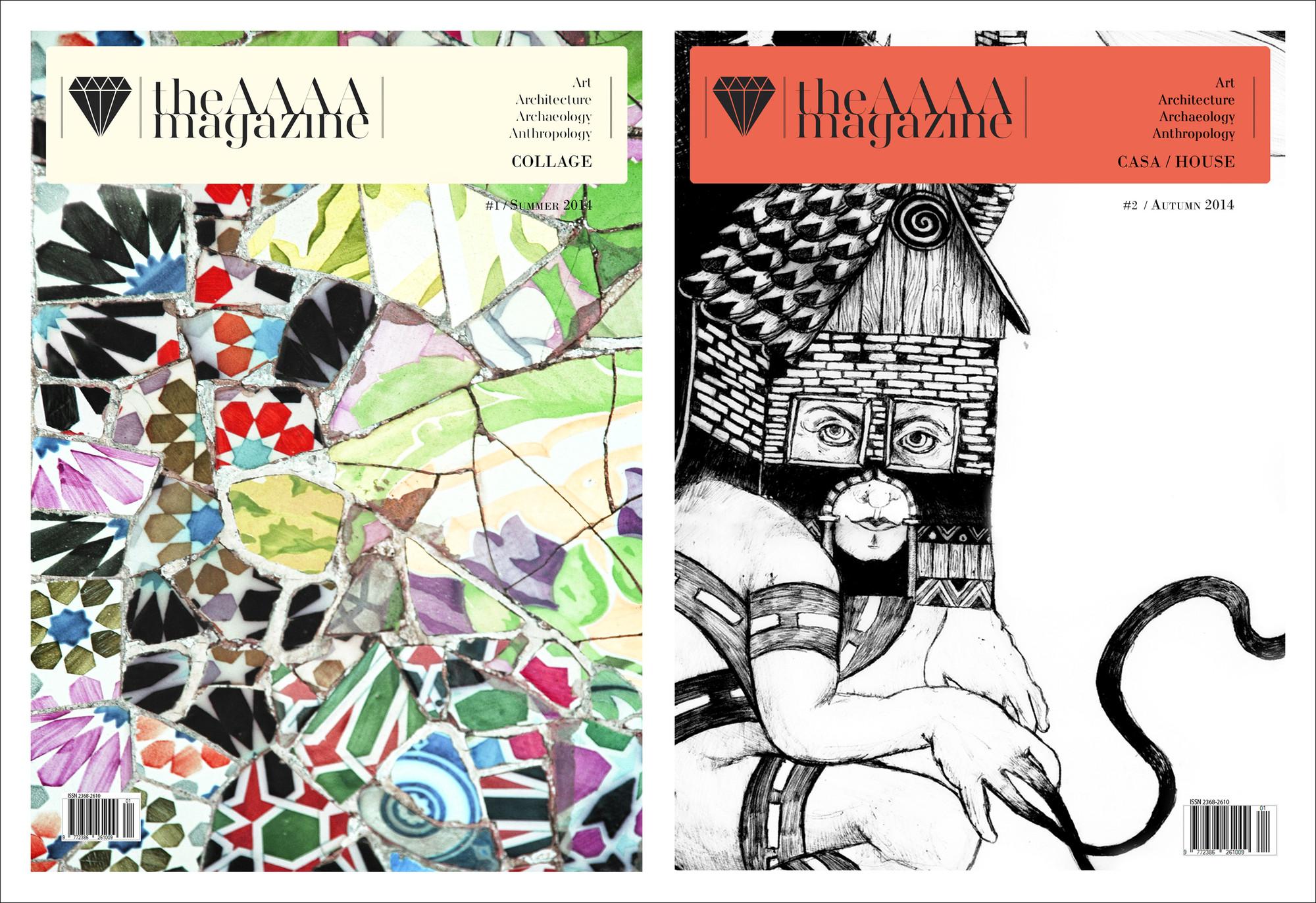 The AAAA Magazine: Estudiantes de arquitectura, creadores y protagonistas de una revista internacional, © The AAAA Magazine
