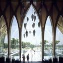 Foyer. Image Courtesy of ZHA