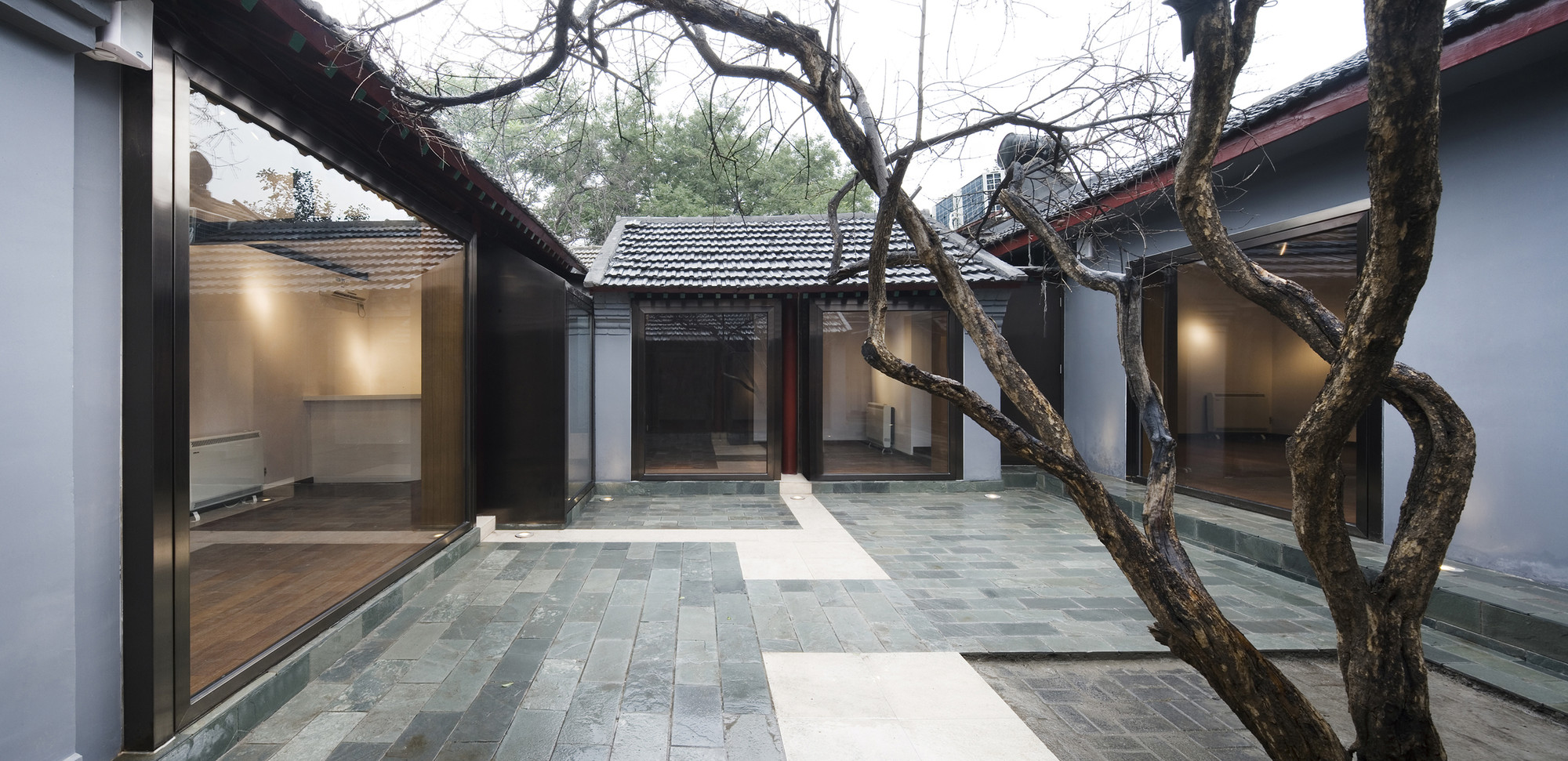 No 18 guan shu yuan hutong atelier liu yuyang for De atelier architects