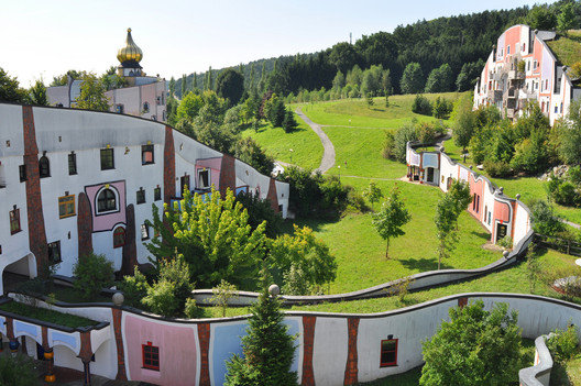 Hot Springs Village, Bad Blumau, Styria, Austria. Image © Flickr CC User Enrico Carcasci