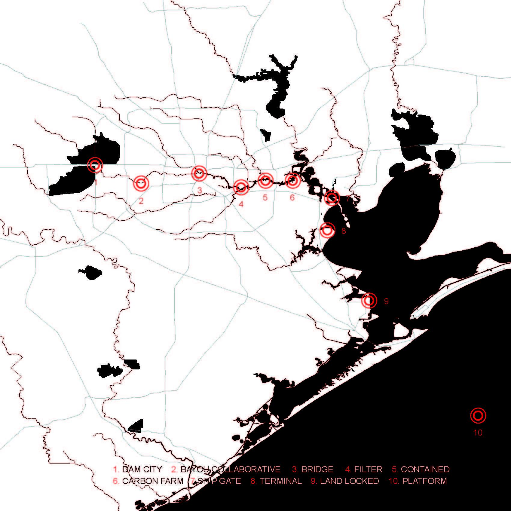 Gallery of A Walk Along the Bayou: An Award-Winning Proposal ... on ro map, cal state fullerton map, university of hawaii map, uz map, fa map, rice university parking map, the kentucky map, u of h campus map, fsu college map, uq map,