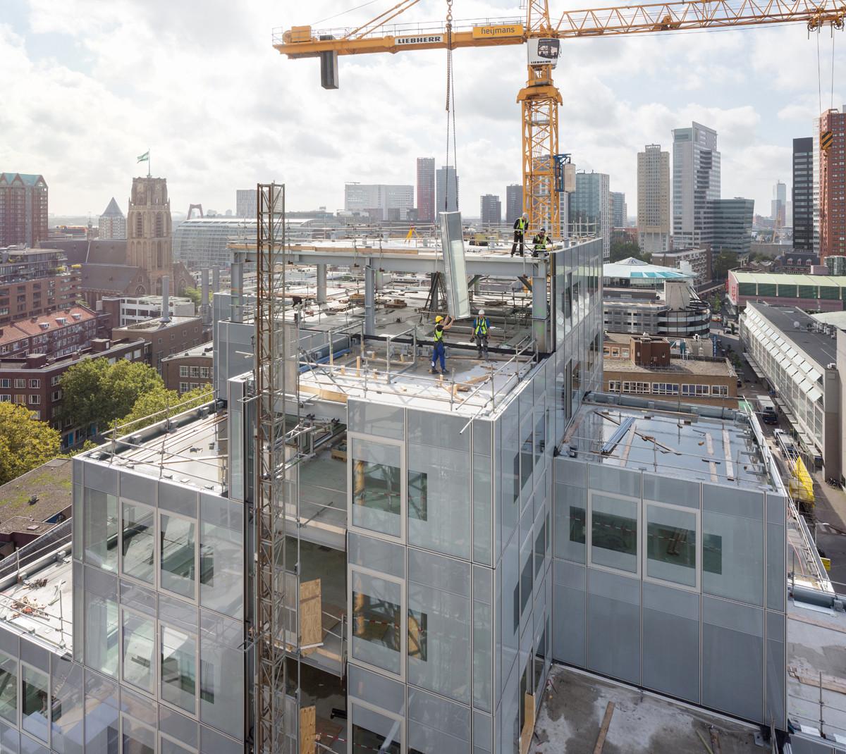 En construcción: Stadskantoor / OMA, © Ossip van Duivenbode