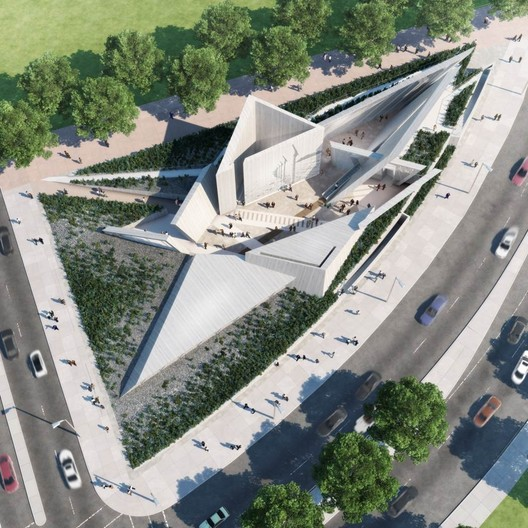 Canadian National Holocaust Monument, Ottowa. Image © Government of Canada