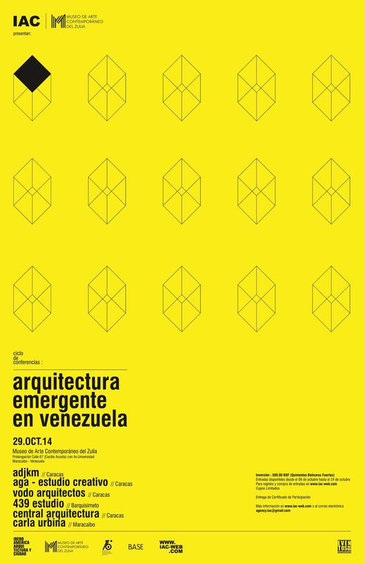 """Ciclo de conferencias: """"Arquitectura emergente en Venezuela"""""""